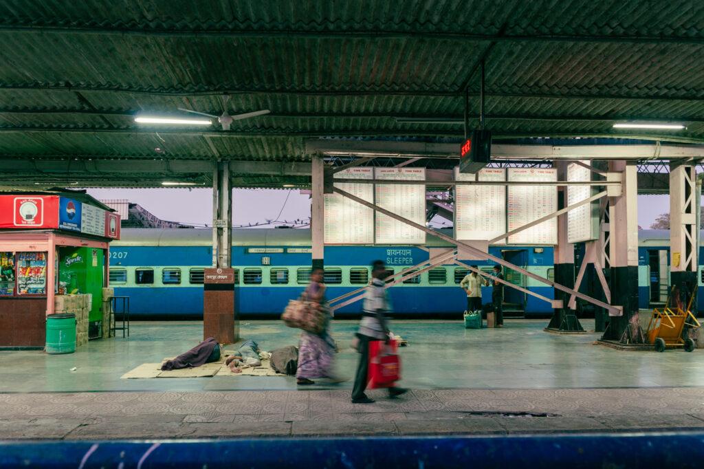 Jaipur Railway Station in the morning