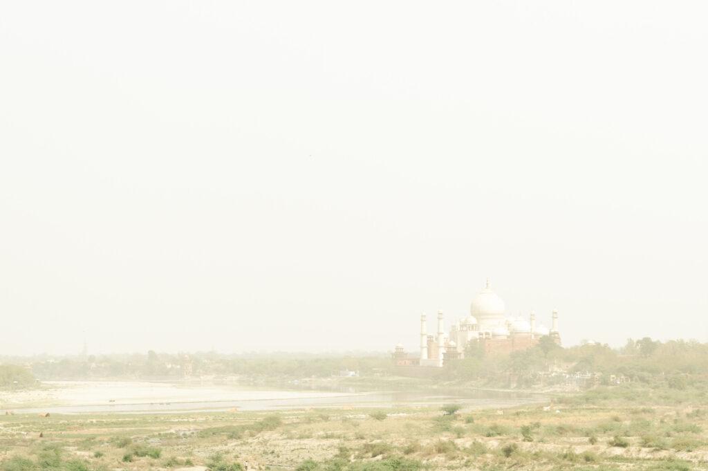 Yamuna River & Taj Mahal