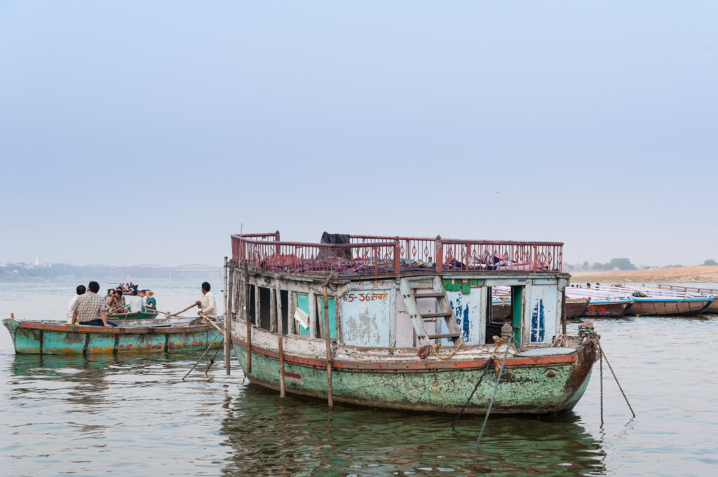 Ganges River Boat